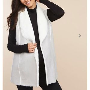 Host Pick !! Motherhood Maternity Faux Fur Vest